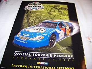 Daytona 500 the Great American Race February 15, 2004 Disney (Magazine) (Nextel Cup Series, 2 of 4)
