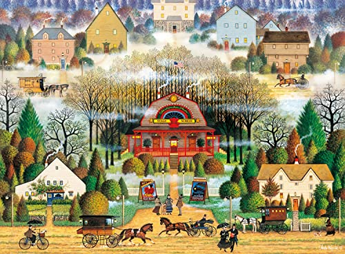 Buffalo Games Melodrama in the Mist by Charles Wysocki Jigsaw Puzzle (1000 Piece) by Buffalo Games