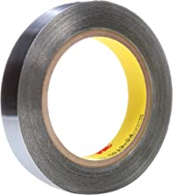 Length: 6 yds Width: 0.125 3M 0.125-6-1182 Double-Sided Foil Tape with Conductive Adhesive- 0.125 x 6 yd 1 roll