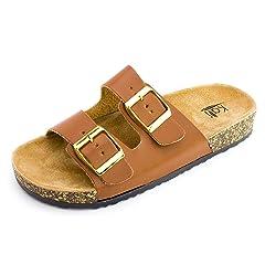 1d6f310ffce0 Kali Womens Open Toe Buckle Strap Sandals