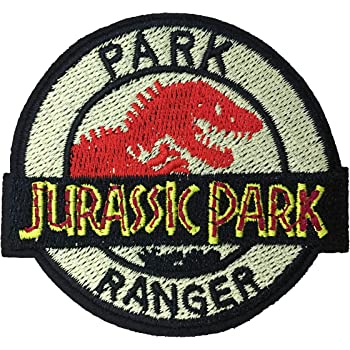 Jurassic World Movie Iron On Patch Sew On Embroidered Patch T shirt Jacket Patch