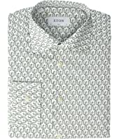 Eton - Slim Fit Snake All Over Print Shirt