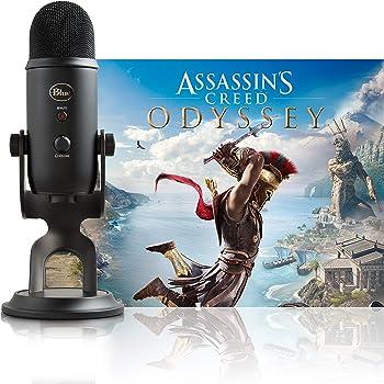 Blue Yeti Blackout + Assassin's Creed Odyssey Bundle