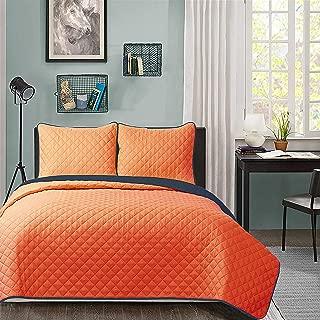 Best navy orange reversible comforter Reviews