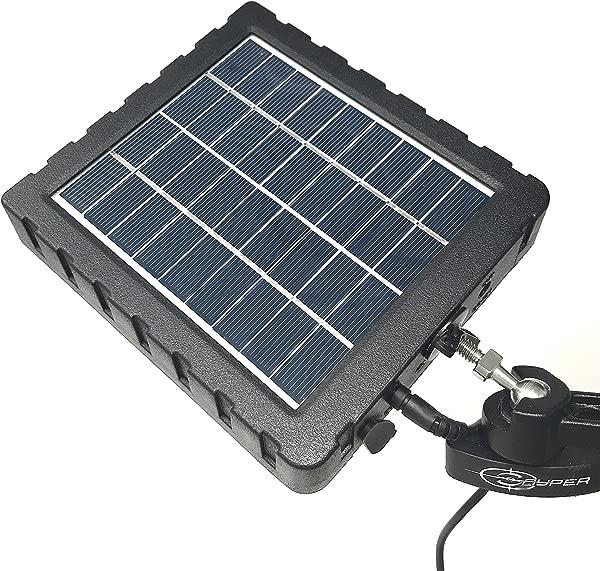 Snyper Hunting 产品 Snyper 相机 12v 太阳能电池板套件,带 2 节可充电内置锂电池