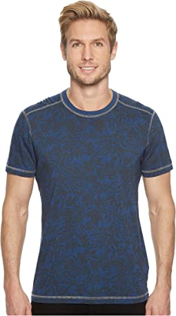 Agave Denim - Frisco Woods Short Sleeve Crew Neck Flora Camo Print