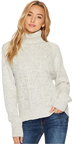 Jack by BB Dakota - Alice Marled Cable-Knit Sweater