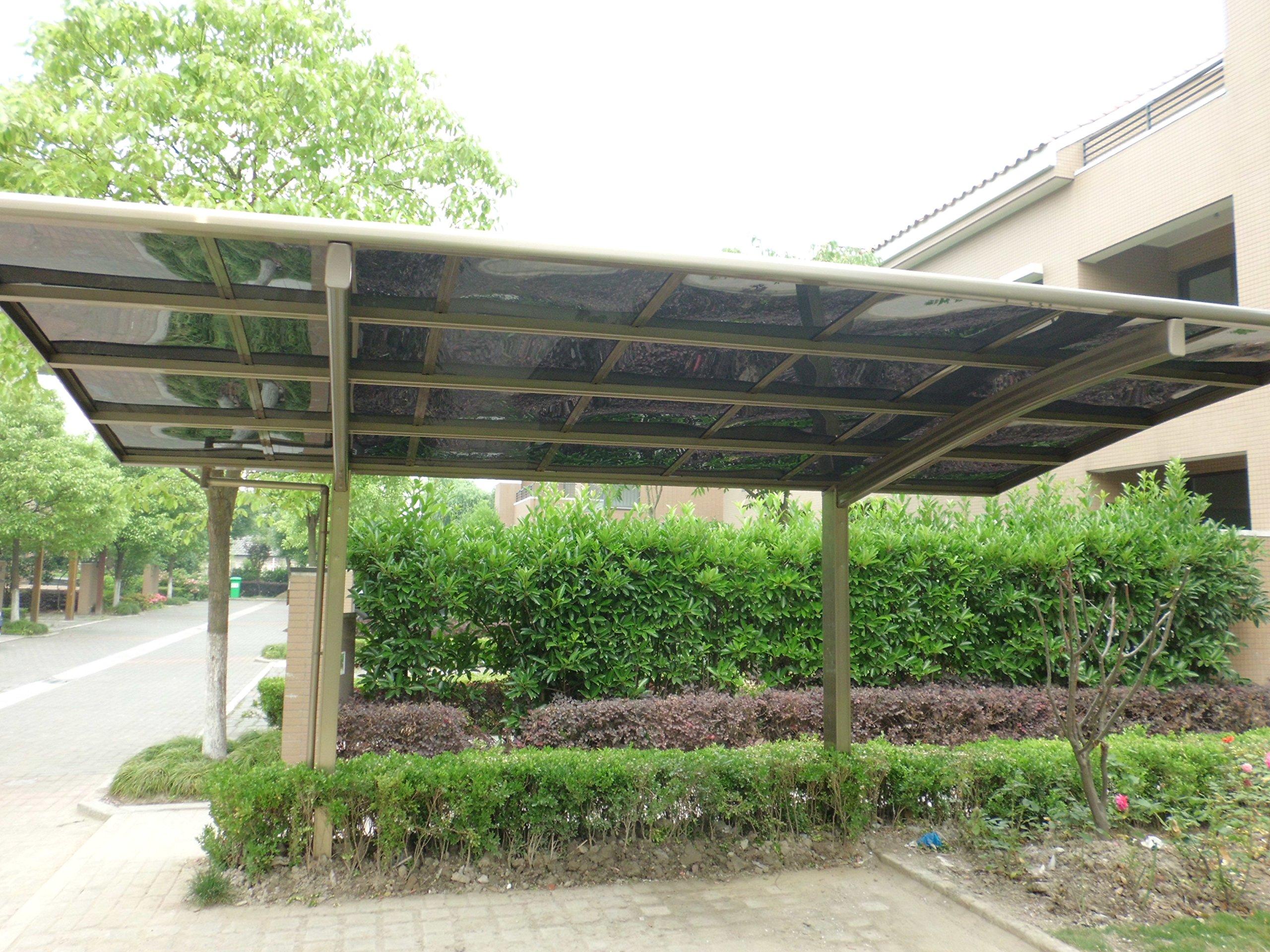 10 x 18 Carport aluminio policarbonato garaje toldo resistente ...