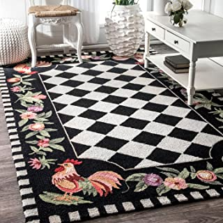 nuLOOM Farmhouse Rooster Area Rug, 3' 6