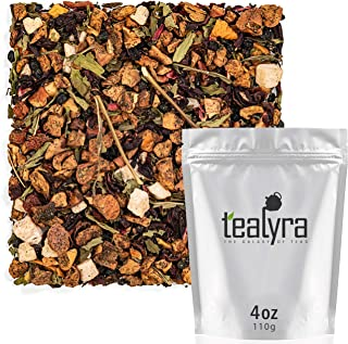 Tealyra - Watermelon Mint Agua - Honeydew Melon - Hibiscus - Peppermint - Herbal Fruity Loose Leaf Tea - Caffeine Free - H...