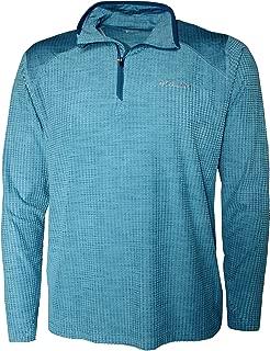 Columbia Men's Crestone Ridge Half Zip Omni Wick Long Sleeve Shirt
