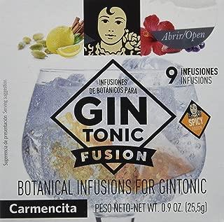 Carmencita Especias para Gin-Tonic - 3 Paquetes de 9 Bolsitas