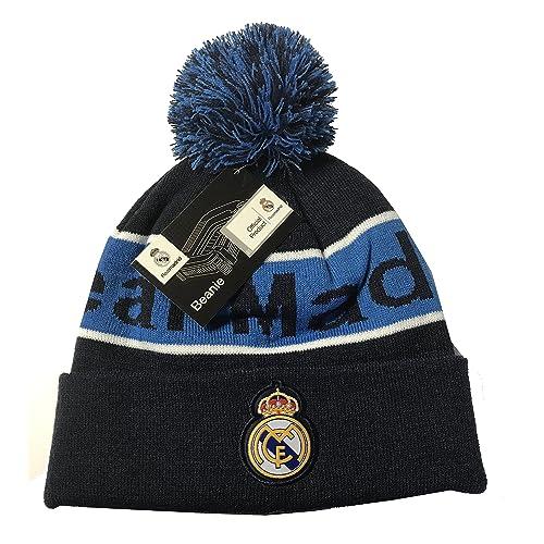 18626505a26 Real Madrid Beanie Pom Pom Skull Cap Hat New Season