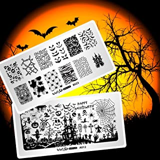 bundle monster halloween nail plates