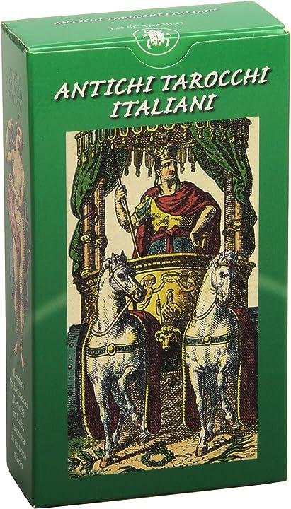 Antichi tarocchi italiani (italiano) cartonato 978-8883950551