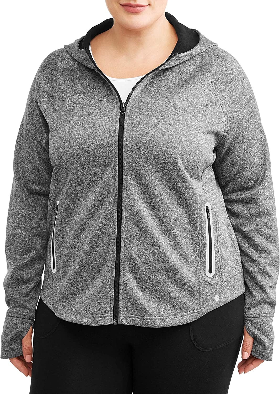 Avia Women's Plus Size Front Zip Active Manufacturer OFFicial shop Performance Heat Jacket Max 78% OFF
