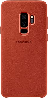 Samsung Galaxy S9+ Alcantara Cover - Red