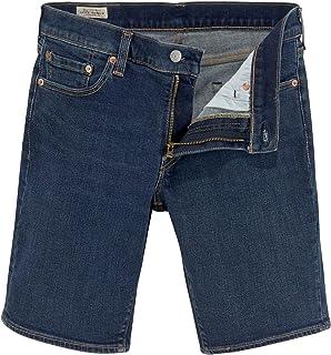 Levi's Men's 511 Slim Hemmed Shorts, Blue, 34W