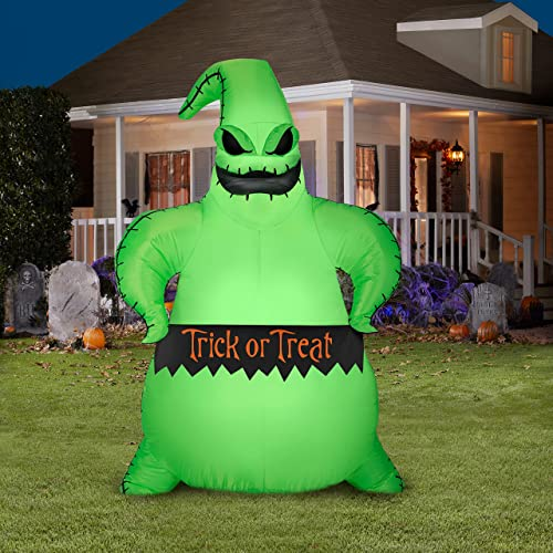 wholesale Disney Inflatable Nightmare Before Christmas Boogie Oogie Halloween outlet sale high quality Gemmy 5FT Yard Air Blown Decoration outlet sale