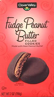 Fudge Peanut Butter Filled Cookies Just Like Girl Scout Tagalongs