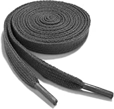 OrthoStep Narrow Flat Athletic Shoelaces - High Durability 2 Pair Pack