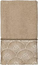 Avanti Linens Deco Shell Fingertip Towel, One Size, Rattan