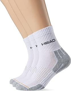 Head Socke Performance, Calcetines para Hombre, Blanco/Gris, Pack de 3