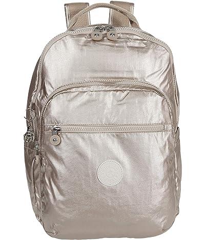 Kipling Seoul Laptop Backpack (Metallic Glow) Backpack Bags