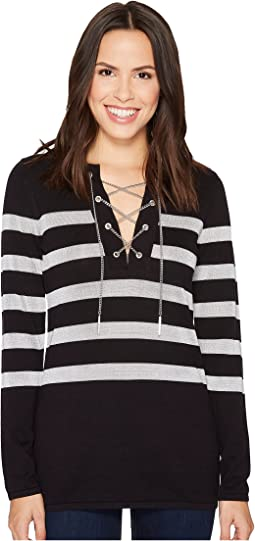 MICHAEL Michael Kors - Laced Chain Tunic