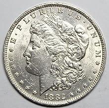 1882 O Morgan Silver Dollar $1 Uncirculated