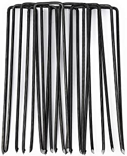 comprar comparacion GardenPrime 200 Grapas Metálicas Alambre de Acero 150mm para Sujetar Tela antihierbas, Mallas, Lana, aislantes, Telas de j...