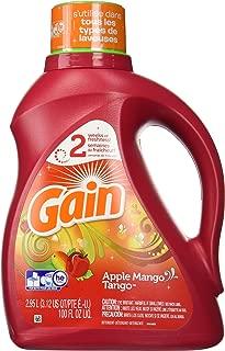 Gain Joyful Expressions 2X Liquid Detergent-Apple Mango Tango-100 oz, 48 Loads
