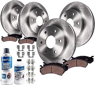2010 2011 Ford Truck Flex OE Replacement Rotors w//Metallic Pads F+R