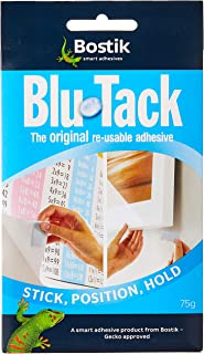 Bostik Blu Tack 75 g, 1 pack, Blue/Gray