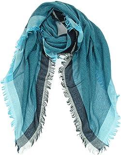 GIULIA BIONDI 100% Made in Italy Sciarpa Lana Stola Scialle Foulard Elegante Invernale Grande Calda Donna Uomo