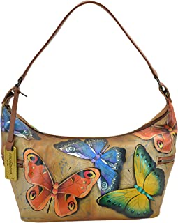 Hand Painted East West Medium Hobo Earth Song