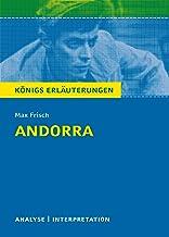 Andorra von Max Frisch. Textanalyse und Interpretation mit ausführlicher Inhaltsangabe und Abituraufgaben mit Lösungen.: L...