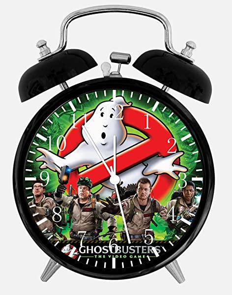 Ghostbusters Alarm Desk Clock 3 75 Home Or Office Decor E274 Nice For Gift