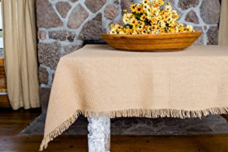 Best fringed burlap tablecloth Reviews