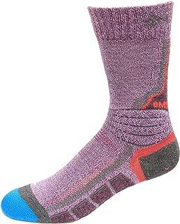 Columbia Omni Heat Space Dye Hiking Crew Socks 1 Pair, Wild Iris, Small