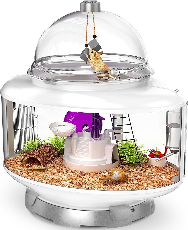 BioBubble Ultimate Small Animal Terrarium  Silver