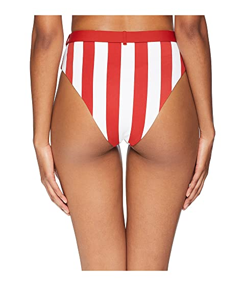 Red Bold onia Bottom WeWoreWhat Burnt x Stripes Emily onia qwH0Yq