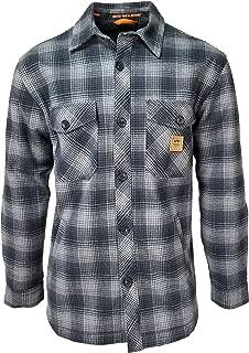 Men's Vintage Heavy Weight Bonded Plaid Jac Shirt