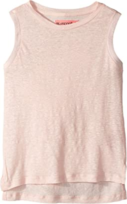 Blank NYC Kids - Sleeveless T-Shirt w/ Back Lacing Detail (Big Kids)
