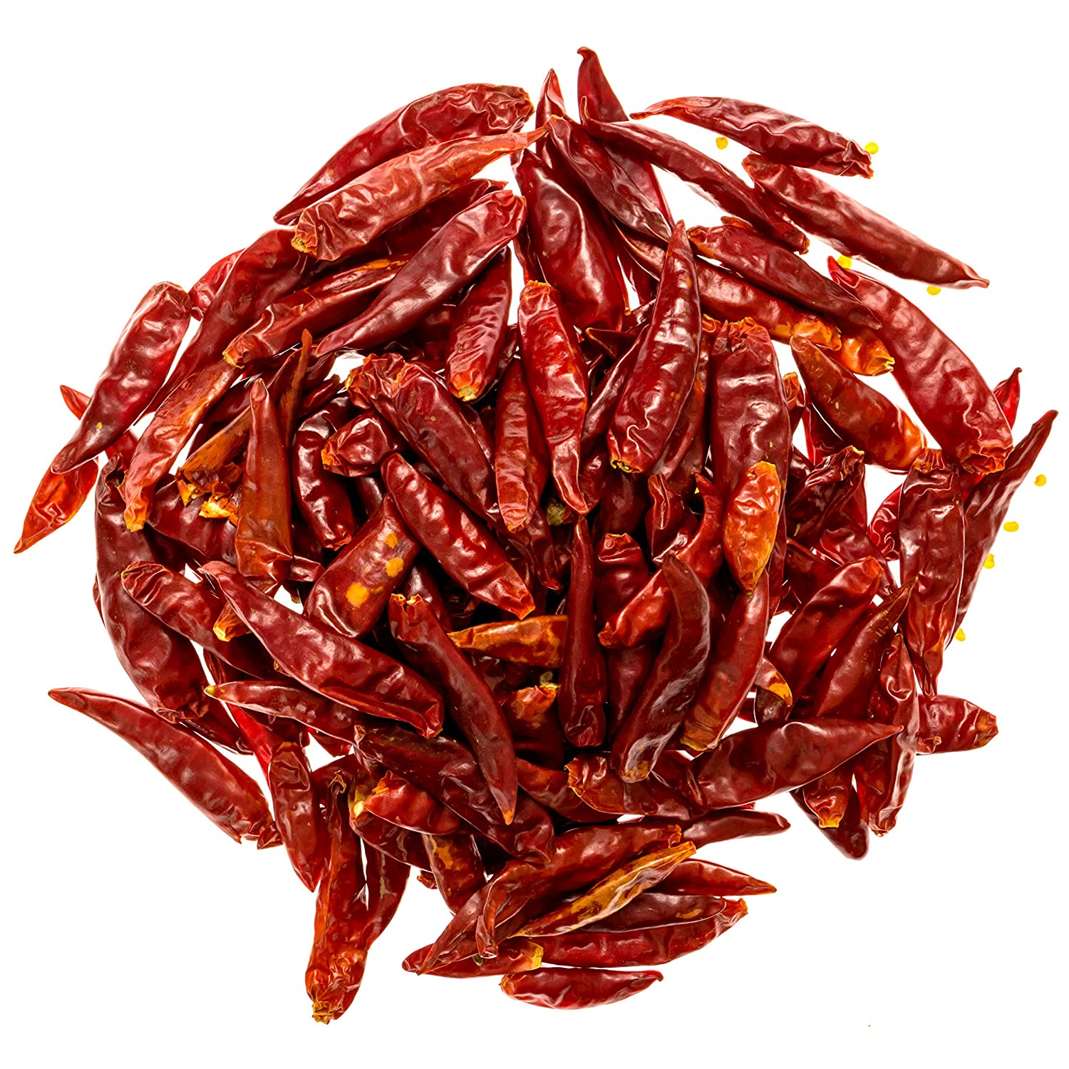Amazon.com : Soeos Szechuan Dried Chili,Dry Szechuan Pepper, Dry Chile Peppers, Sichuan Pepper, Dried Red Chilies, 4oz, (Very Mild Spicy) : Grocery & Gourmet Food