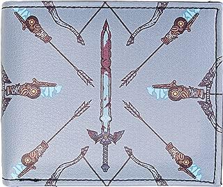 Zelda Breath of the Wild Sword/Arrow Bi-Fold Wallet