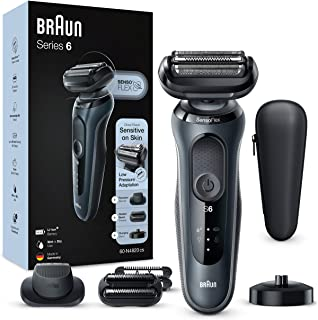 Braun Series 6 60-N4820cs Elektrisch Scheerapparaat Met Oplaadstandaard, Precisietrimmer, Stoppelbaardtrimmer, Wet & Dry, ...