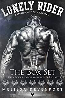 Lonely Rider - The Box Set: A Motorcycle Club Romance - All 7 Books - The Complete Series