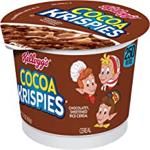 Kellogg's Cocoa Krispies Breakfast Cereal in a Cup 2.3oz (Pack of 12)
