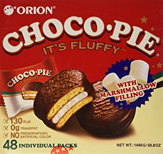 Orion Choco Pie, 48 Count, with Marshmallow Cream